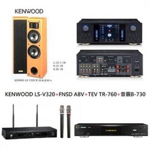 KENWOOD LS-V320+FNSD A8V+TEV TR-760+音圓 B-730